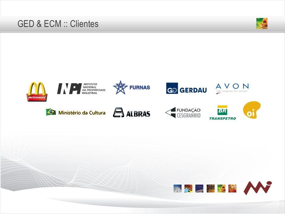 GED & ECM :: Clientes Principais Clientes IMESP Min Cultura Furnas