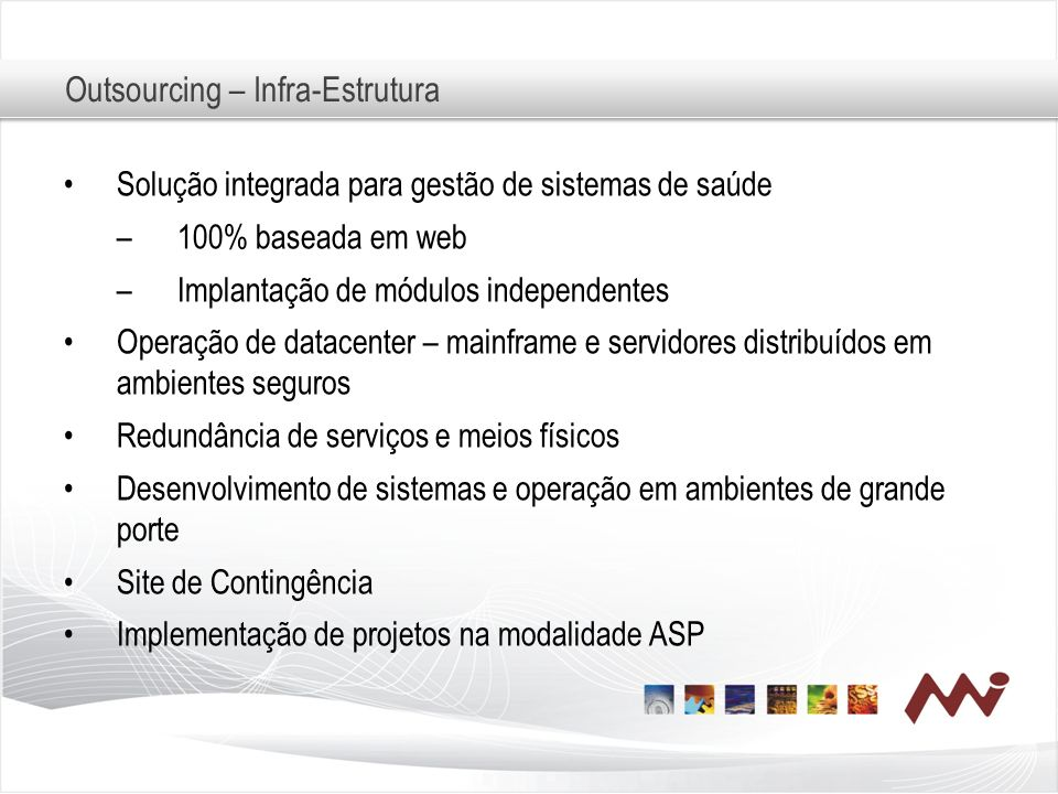 Outsourcing – Infra-Estrutura