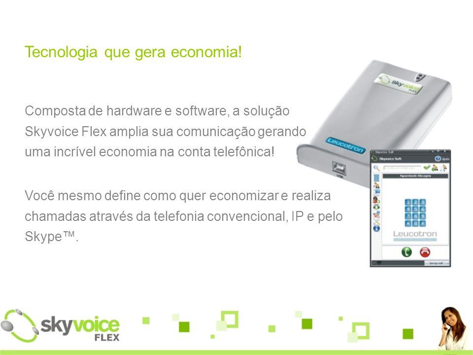 Tecnologia que gera economia!