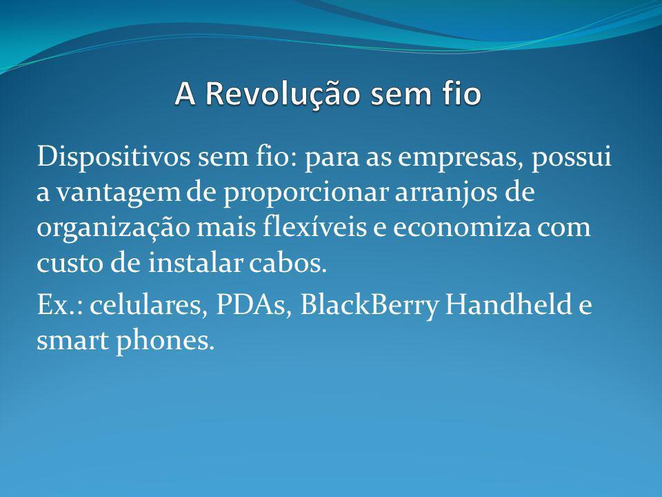 A Revolução sem fio