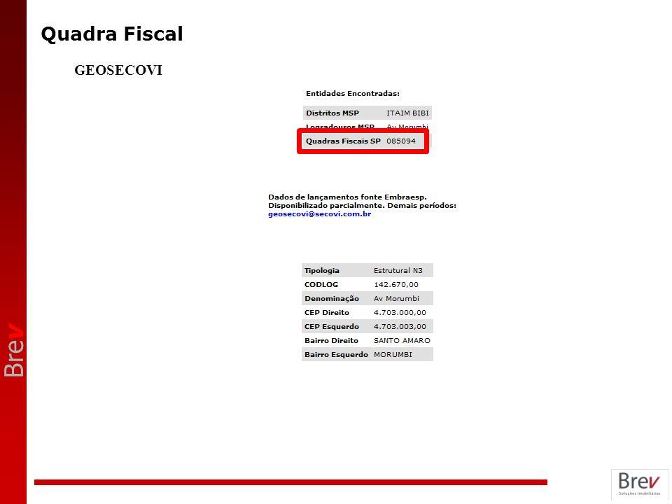 Quadra Fiscal GEOSECOVI ANOTAÇÕES 18