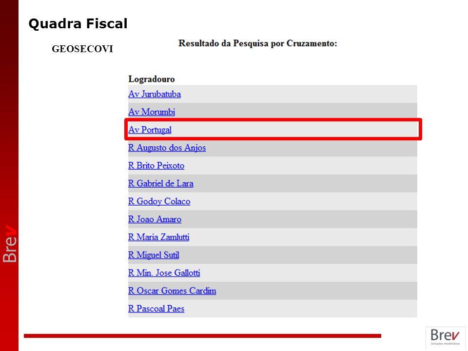 Quadra Fiscal GEOSECOVI ANOTAÇÕES 9
