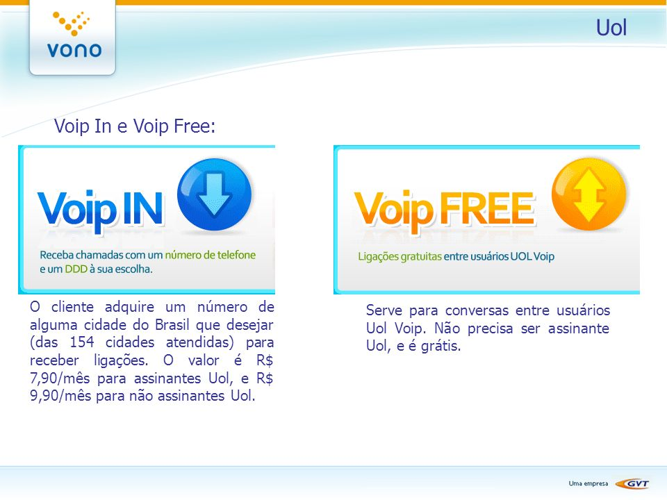 Uol Voip In e Voip Free: