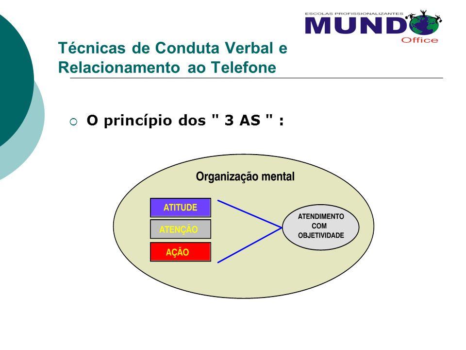 Técnicas de Conduta Verbal e Relacionamento ao Telefone