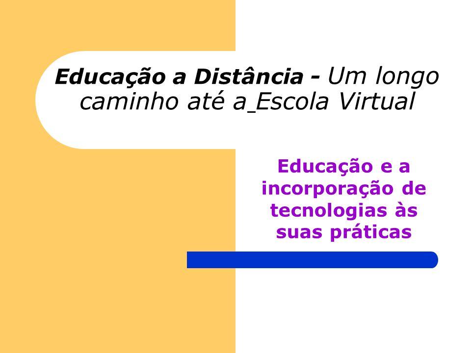 Educação a Distância - Um longo caminho até a Escola Virtual