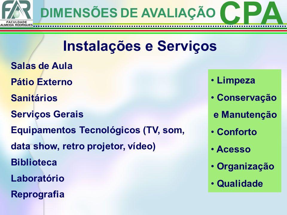 Instalações e Serviços