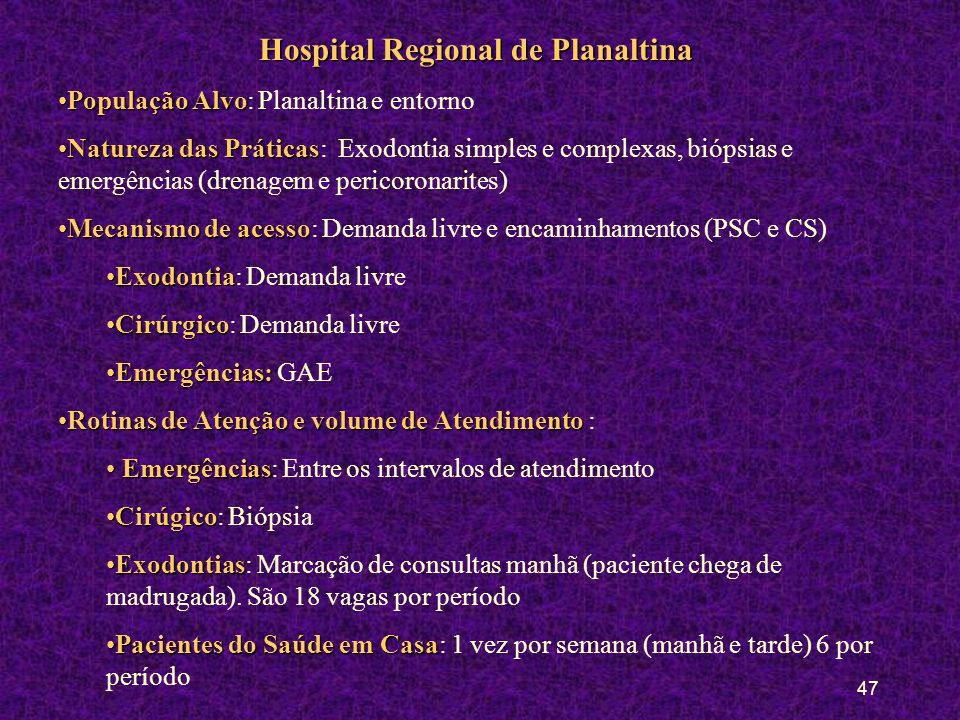Hospital Regional de Planaltina