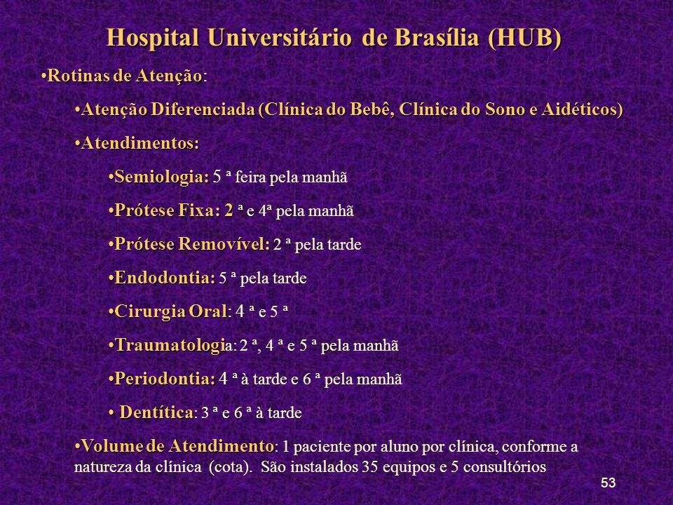 Hospital Universitário de Brasília (HUB)
