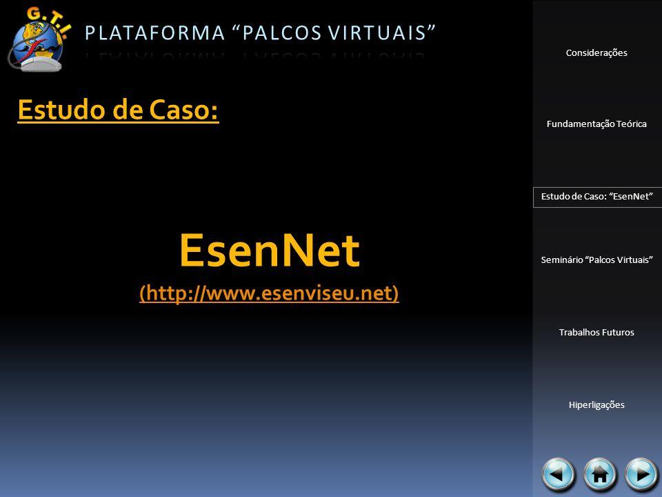 Estudo de Caso: EsenNet (http://www.esenviseu.net)