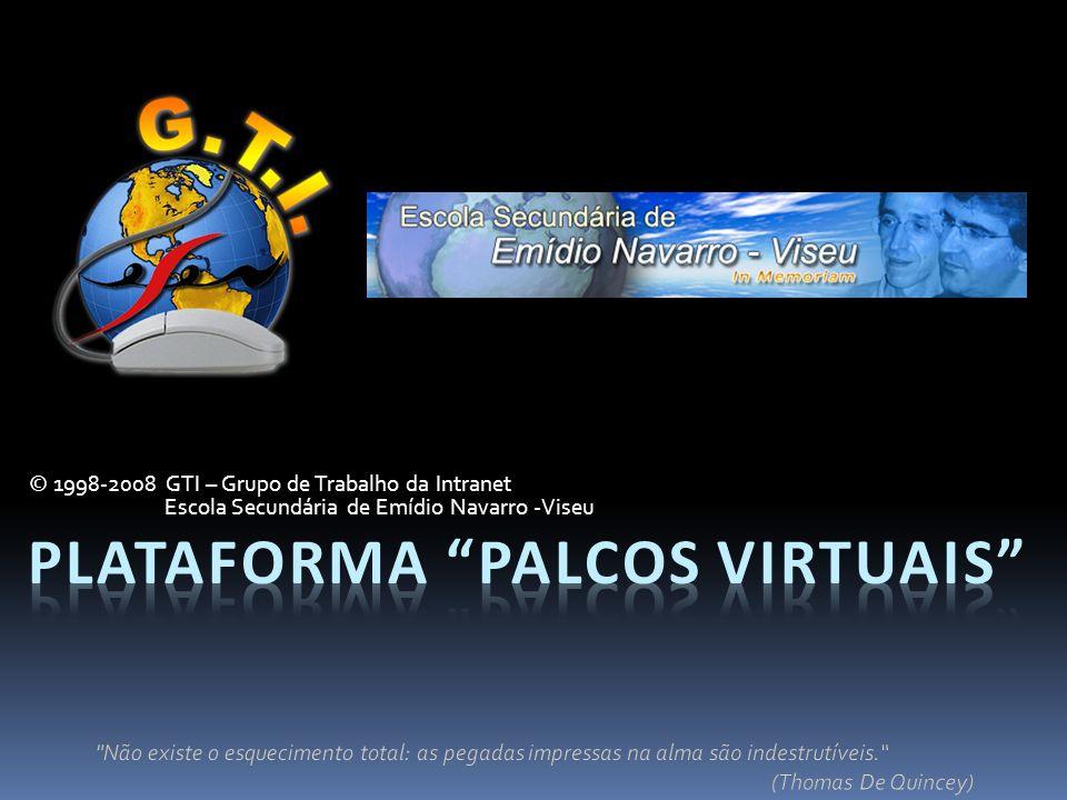 Plataforma palcos virtuais