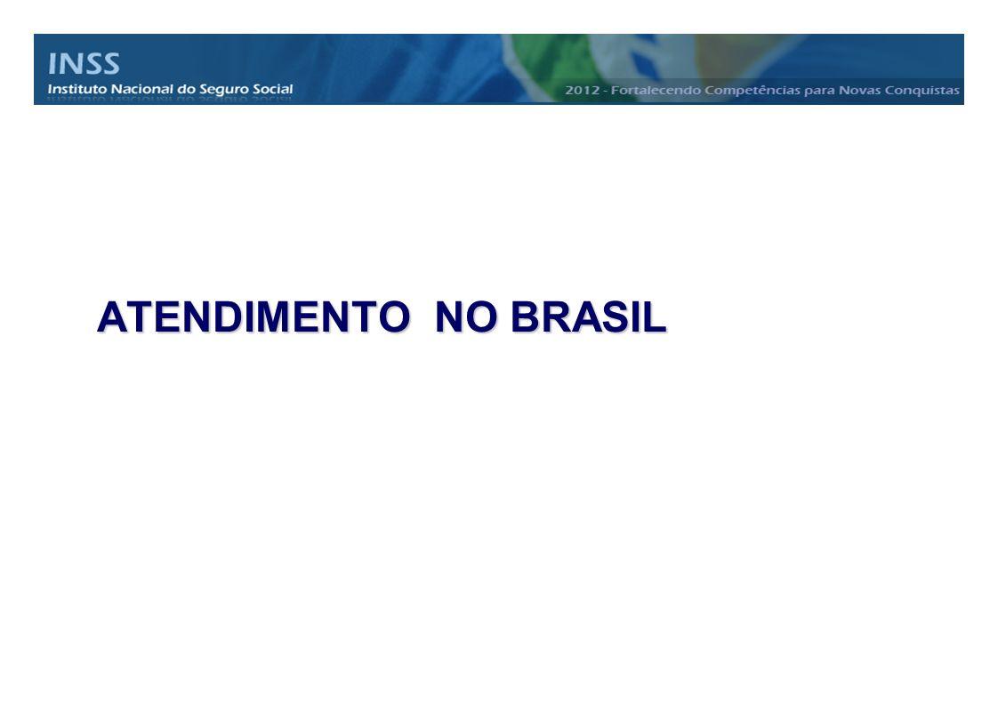 ATENDIMENTO NO BRASIL
