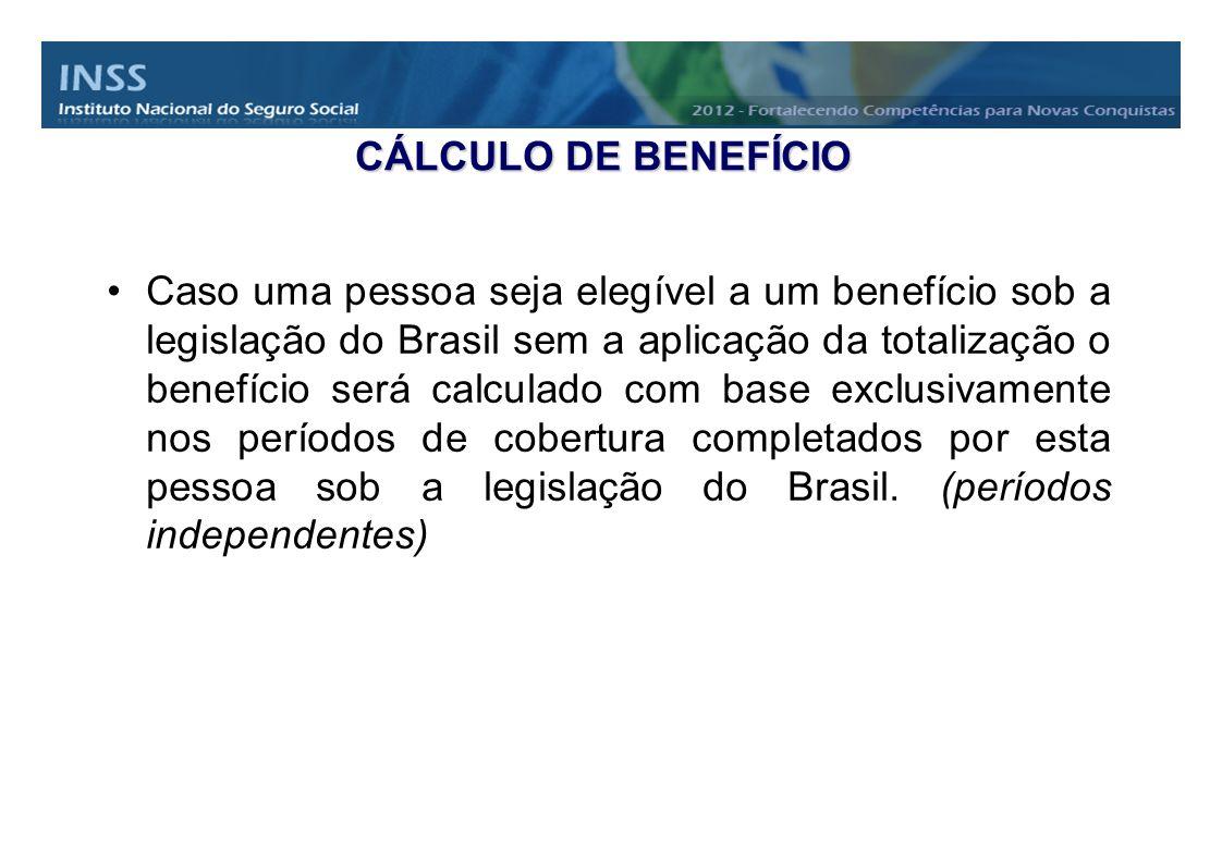 CÁLCULO DE BENEFÍCIO