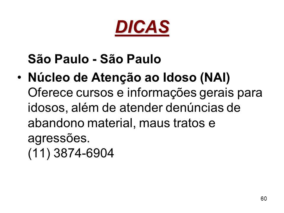 DICAS São Paulo - São Paulo