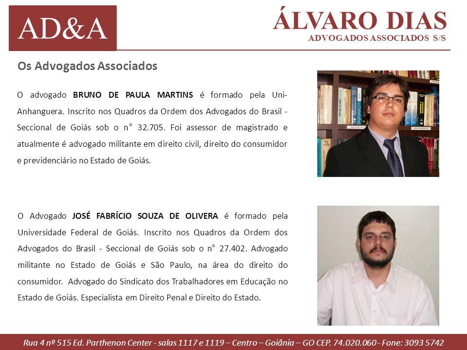 AD&A ÁLVARO DIAS Os Advogados Associados ADVOGADOS ASSOCIADOS S/S