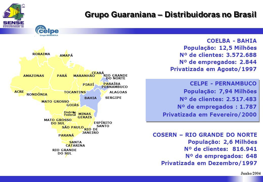 Grupo Guaraniana – Distribuidoras no Brasil