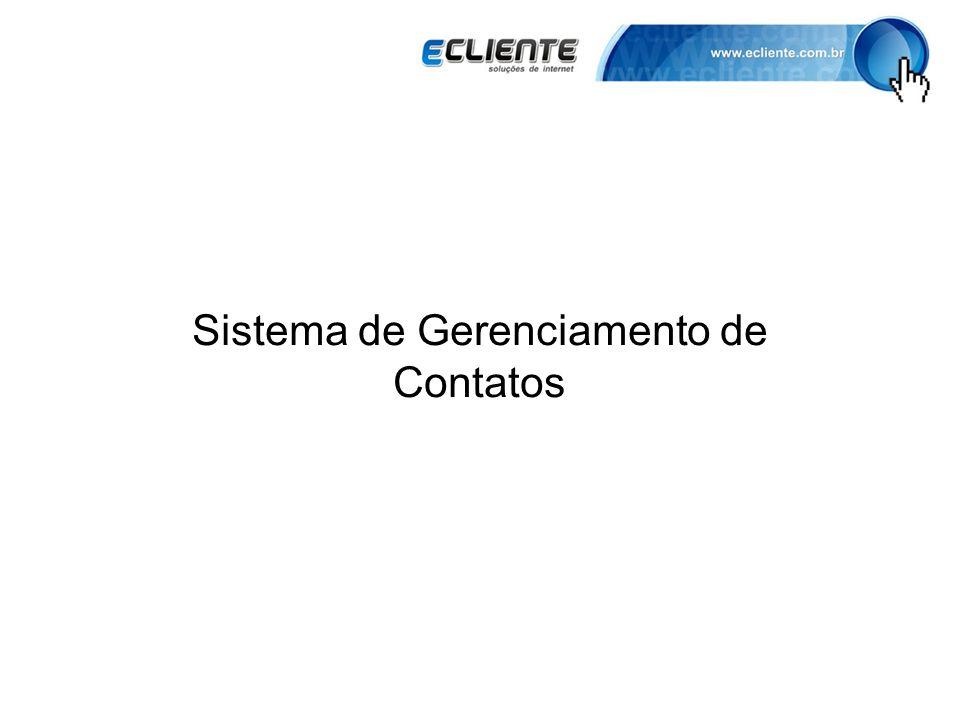 Sistema de Gerenciamento de Contatos