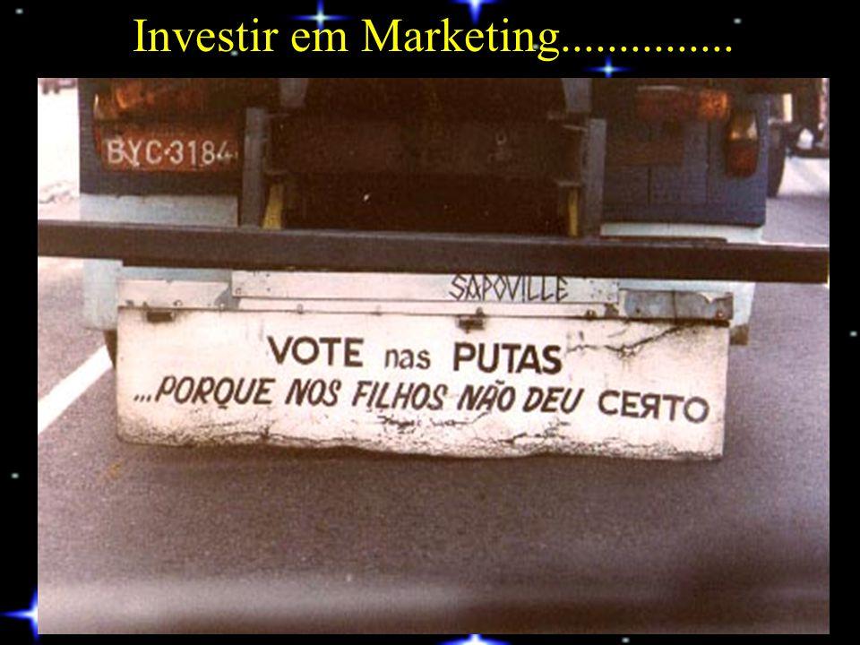 Investir em Marketing...............