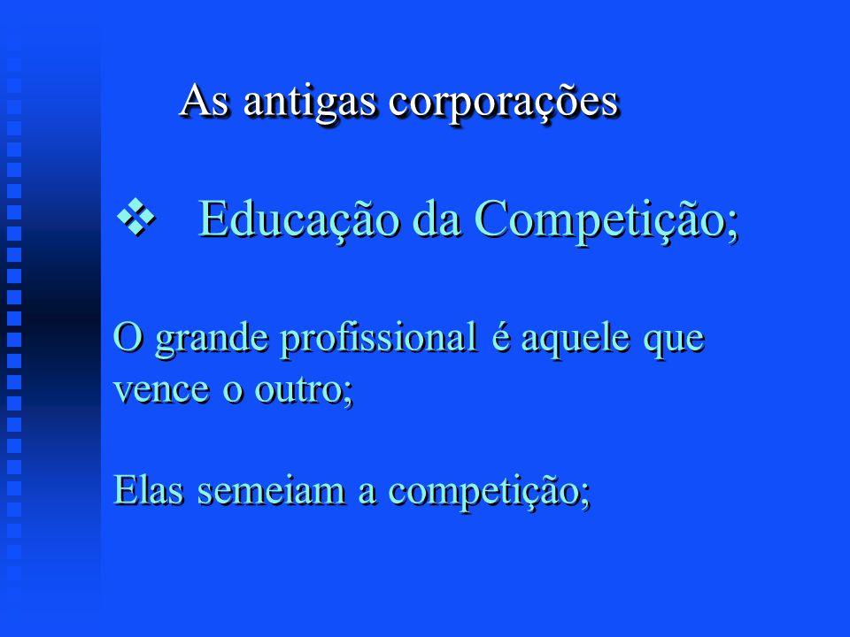 As antigas corporações