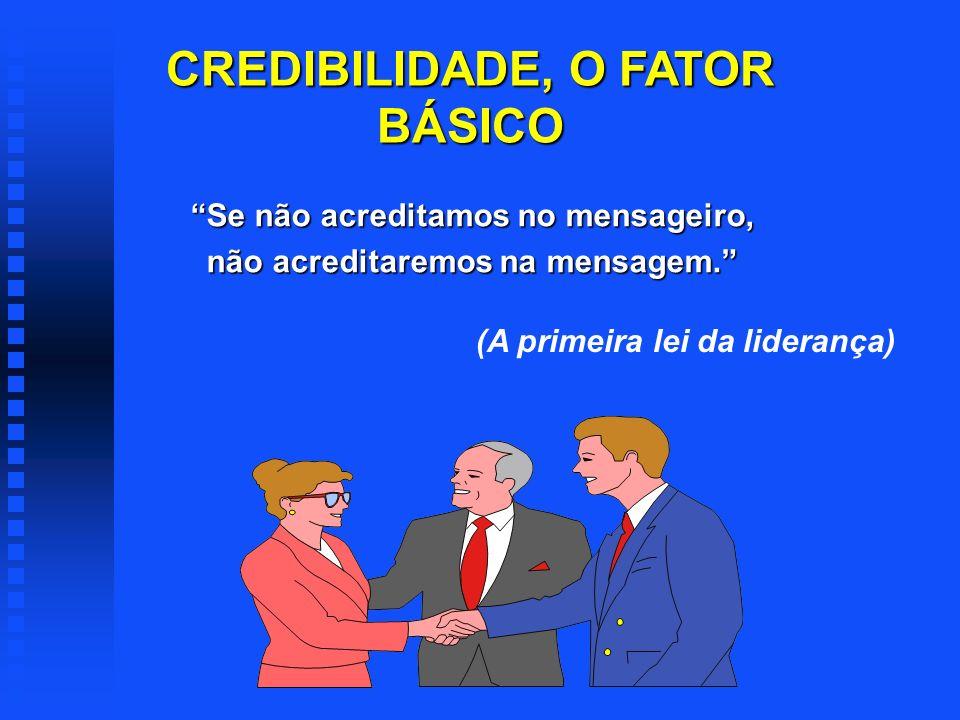 CREDIBILIDADE, O FATOR BÁSICO