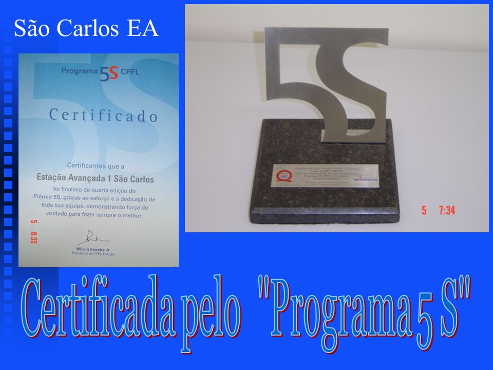 Certificada pelo Programa 5 S