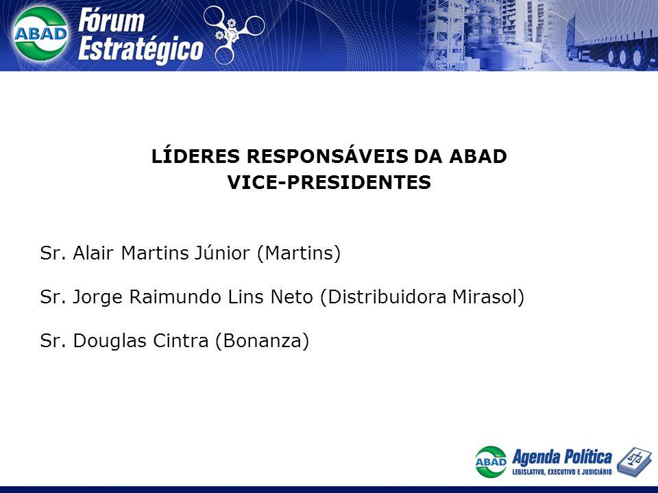 Líderes Responsáveis DA ABAD