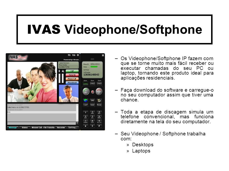IVAS Videophone/Softphone