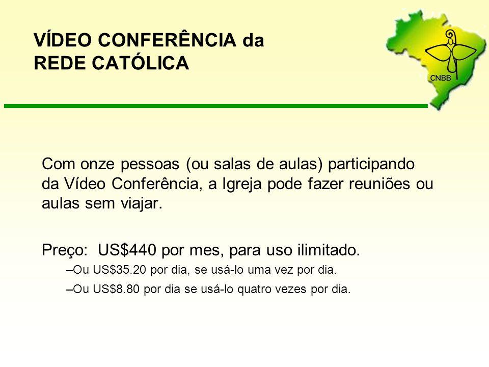 VÍDEO CONFERÊNCIA da REDE CATÓLICA