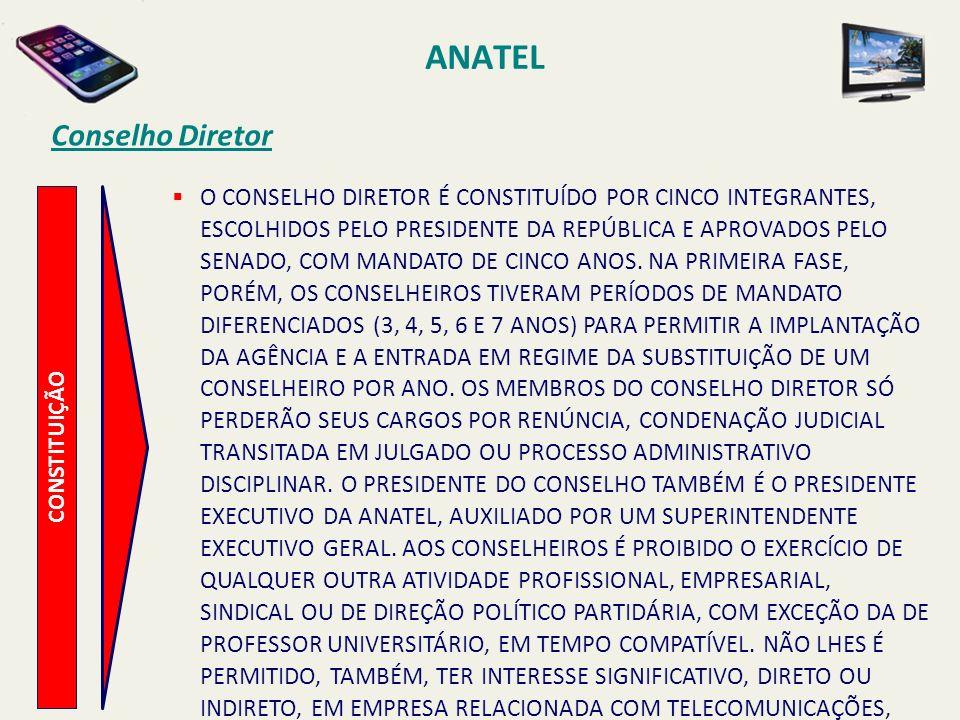 ANATEL Conselho Diretor