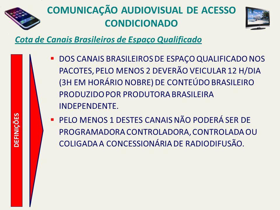 COMUNICAÇÃO AUDIOVISUAL DE ACESSO CONDICIONADO