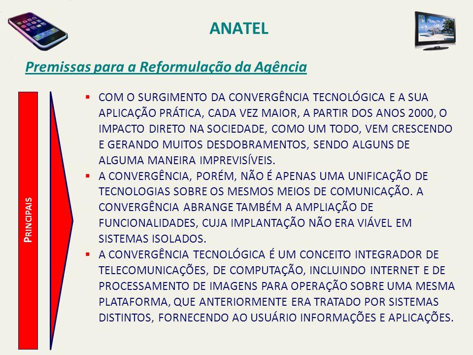 ANATEL Premissas para a Reformulação da Agência