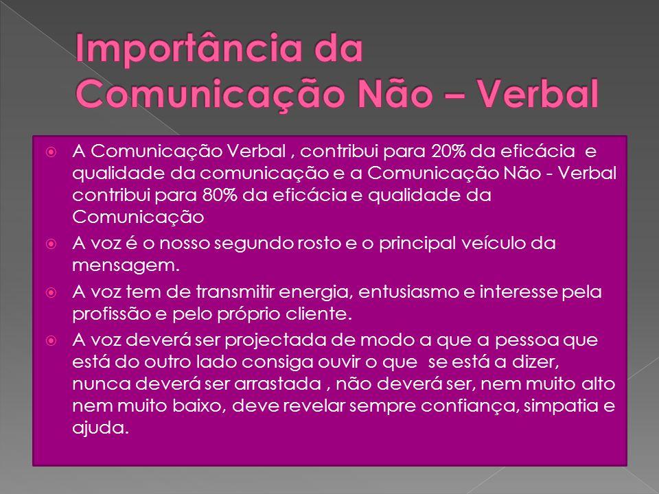 Importância da Comunicação Não – Verbal