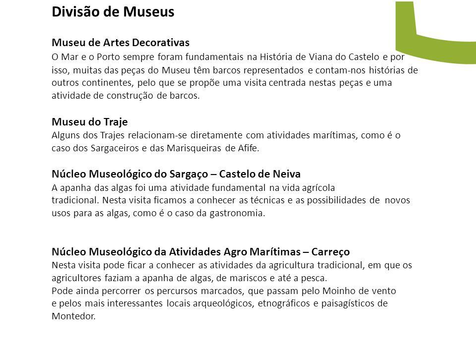 Divisão de Museus Museu de Artes Decorativas