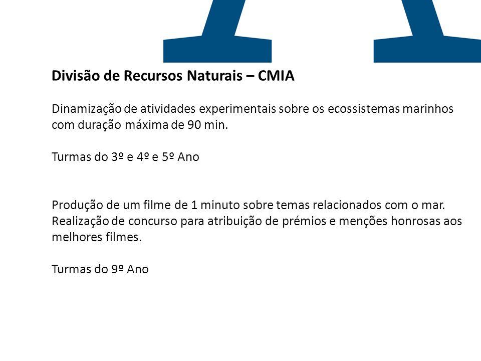 Divisão de Recursos Naturais – CMIA