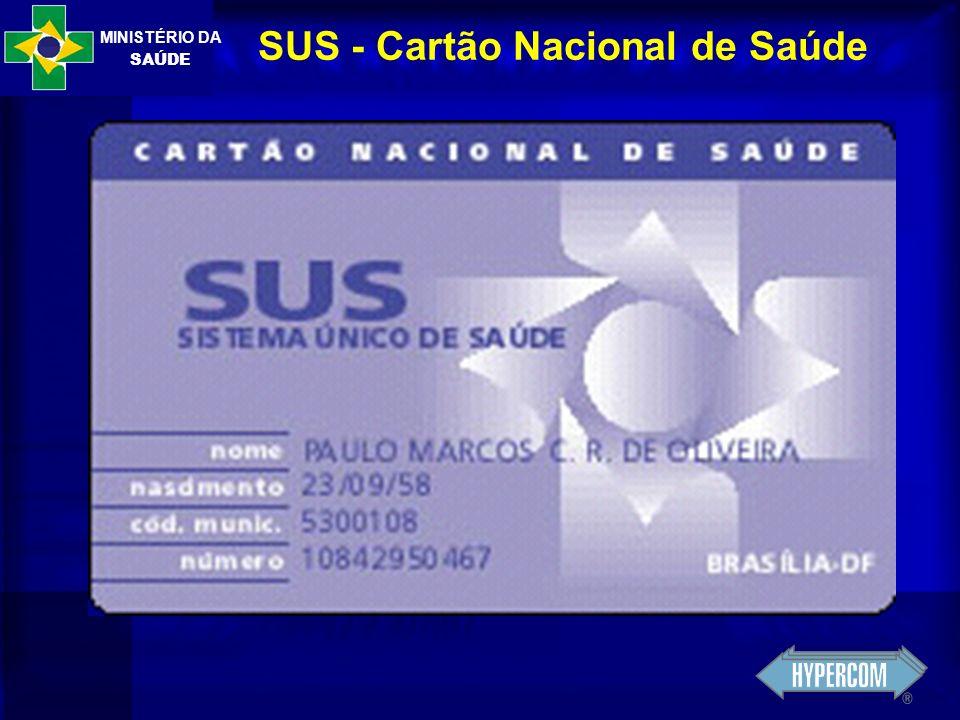 SUS - Cartão Nacional de Saúde