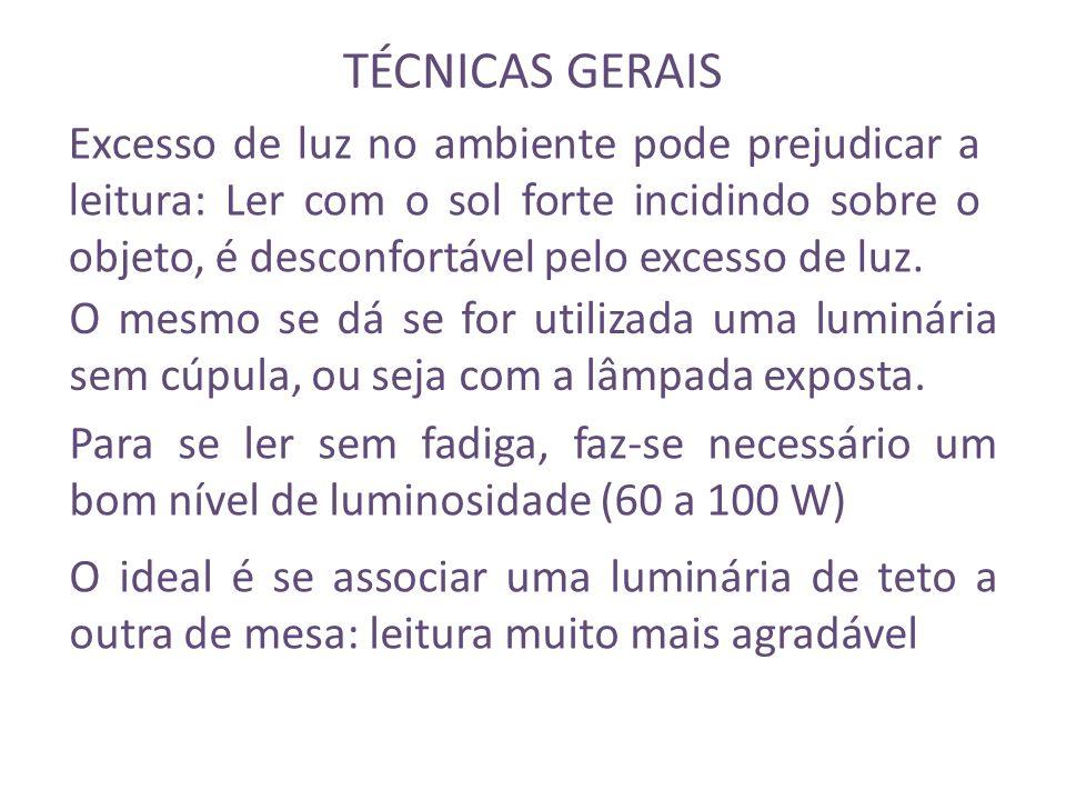 TÉCNICAS GERAIS