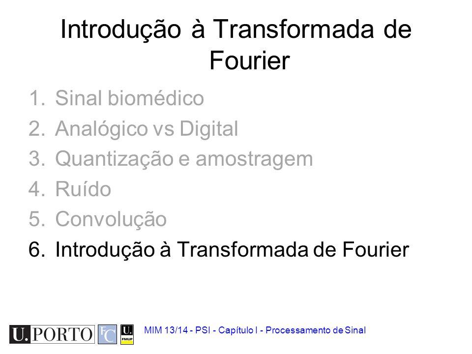 Introdução à Transformada de Fourier