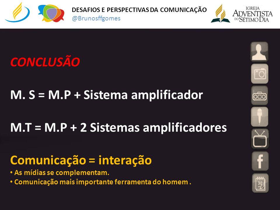 M. S = M.P + Sistema amplificador