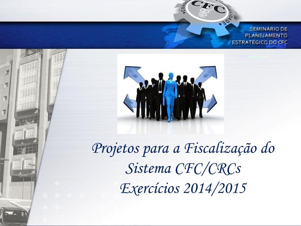Projetos para a Fiscalização do Sistema CFC/CRCs