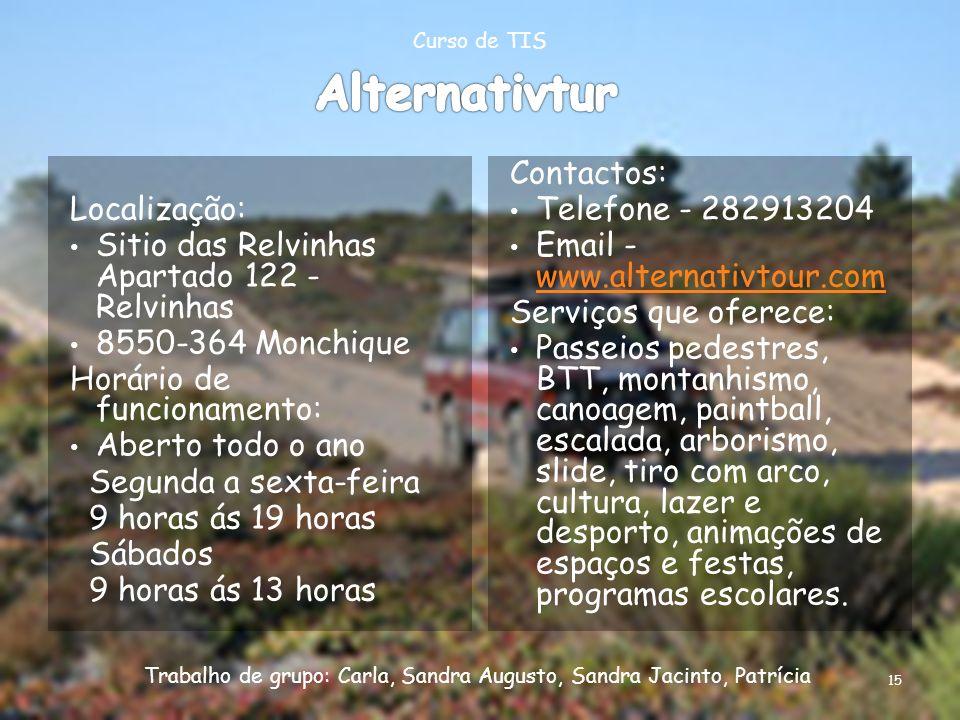 Alternativtur Localização: