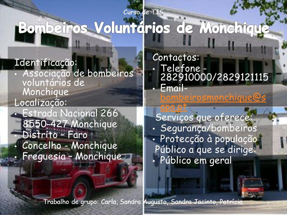 Bombeiros Voluntários de Monchique