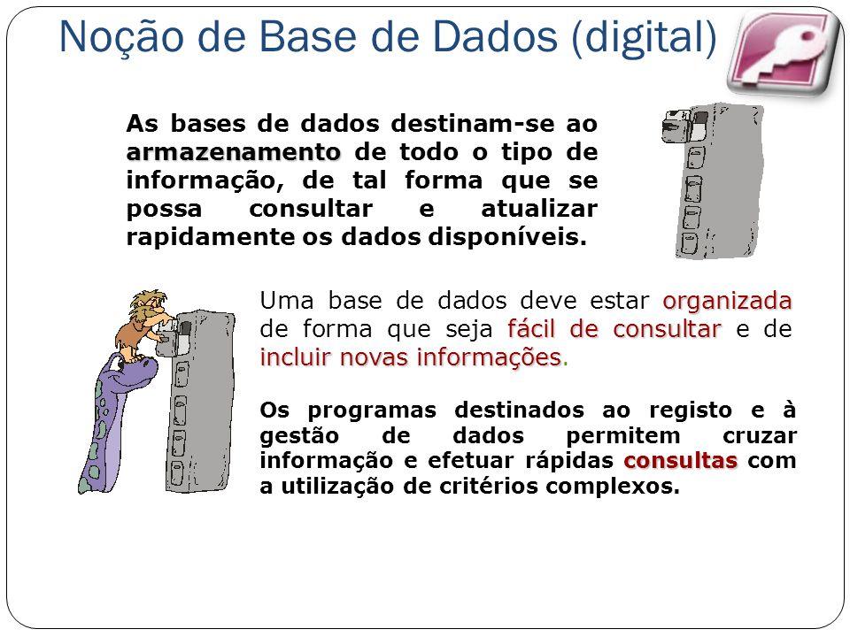 Noção de Base de Dados (digital)