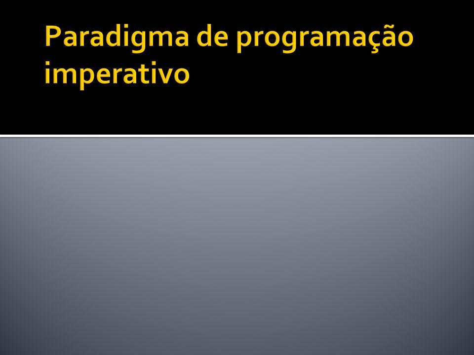 Paradigma de programação imperativo