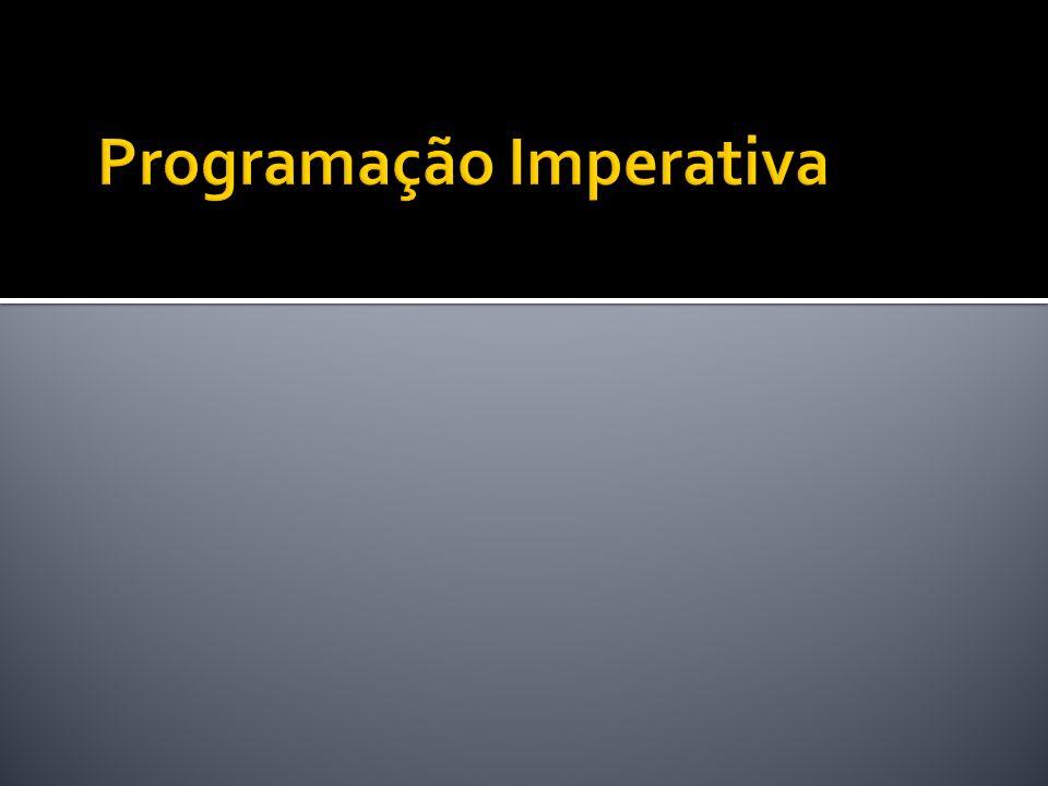 Programação Imperativa