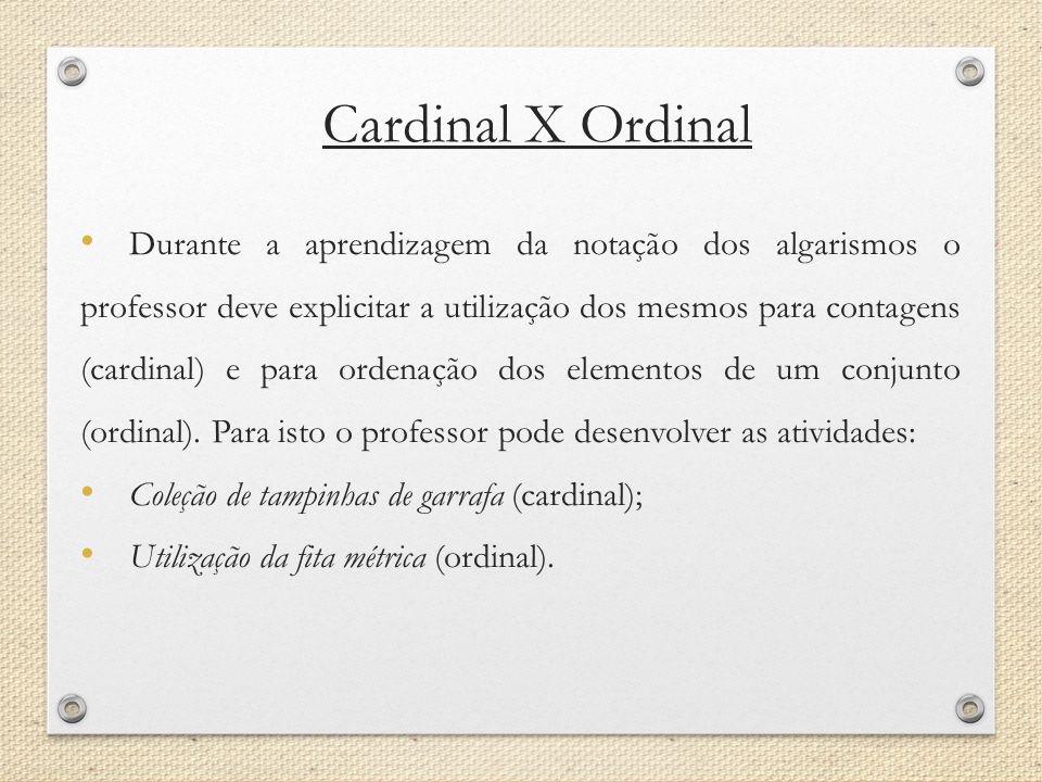 Cardinal X Ordinal