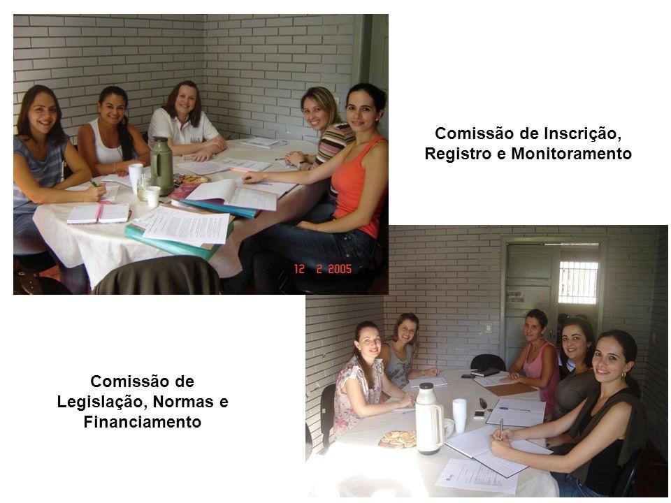 Comissão de Inscrição, Registro e Monitoramento