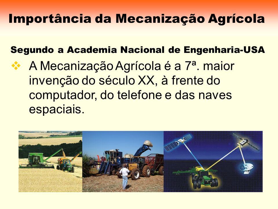 Importância da Mecanização Agrícola