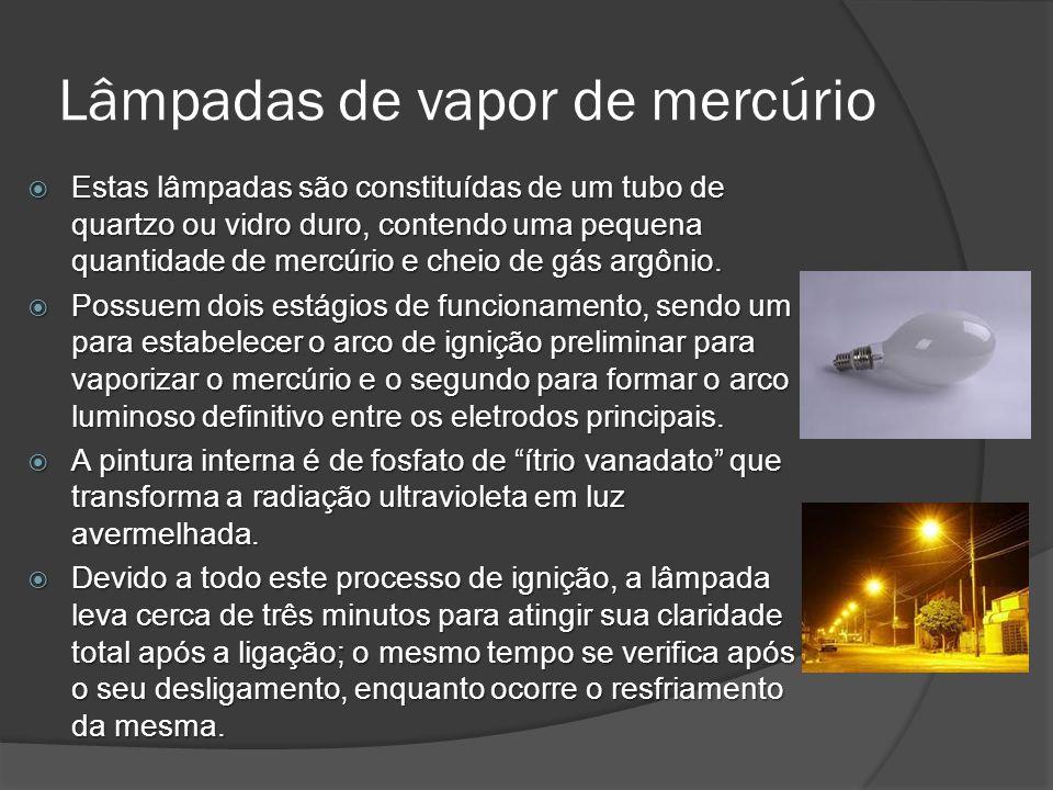 Lâmpadas de vapor de mercúrio