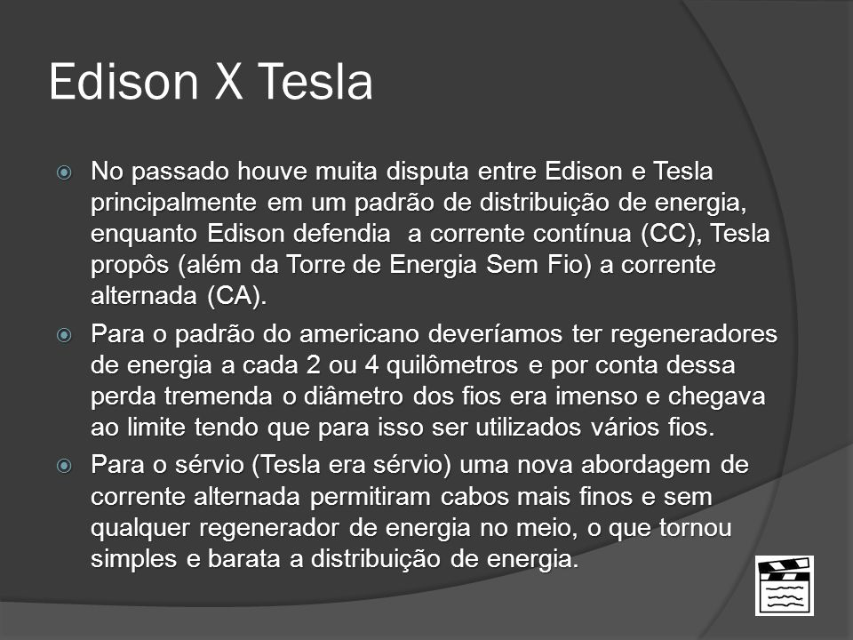 Edison X Tesla
