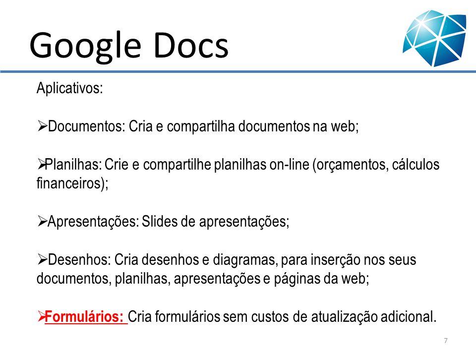 Google Docs Aplicativos: