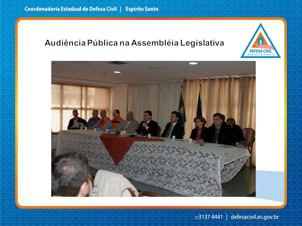 Audiência Pública na Assembléia Legislativa